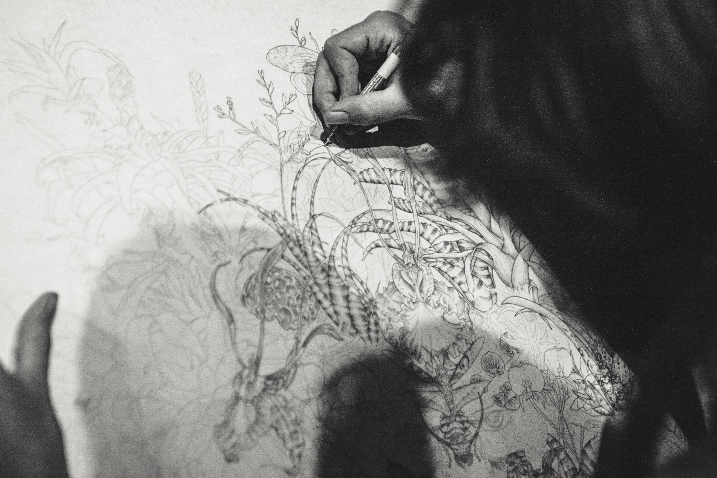 Lilian Chatagnat, peintre animalier
